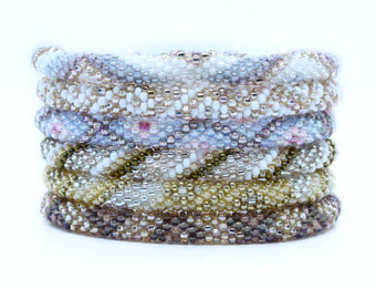 BONUS SALE! Chic Metallic Neutrals Grab Bag - 6 Assorted Bracelets
