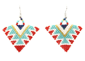 Summer Occasion Triangle Earring