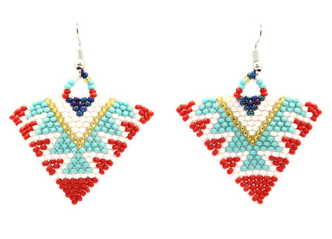 Dream Big Triangle Earring