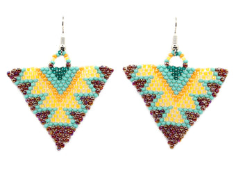 Canyon Light Triangle Earring