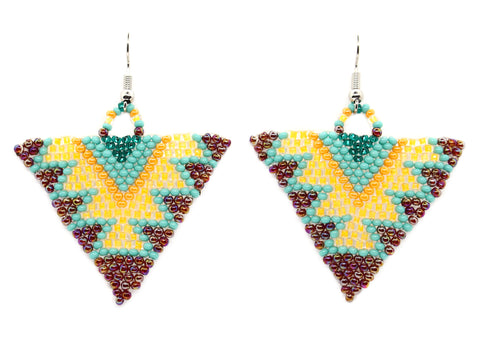 Star of the Dance Floor Triangle Earring