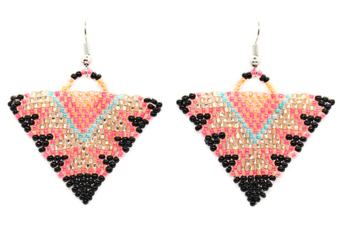 Catch the Light Triangle Earrings