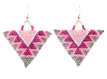Birthday Bash Triangle Earring