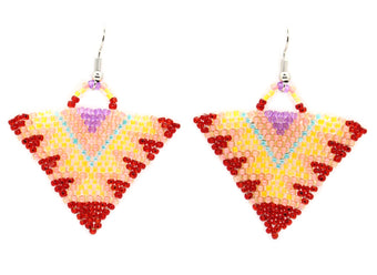 Catch the Light Triangle Earring