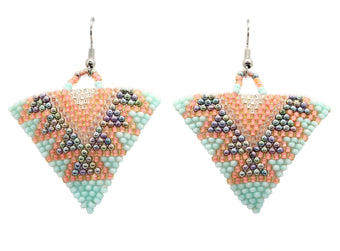 Sanibel Triangle Earring