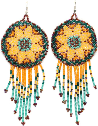 Jubilee Statement Dreamcatcher Earring