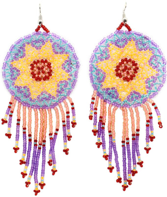 Carnival Statement Dreamcatcher Earring