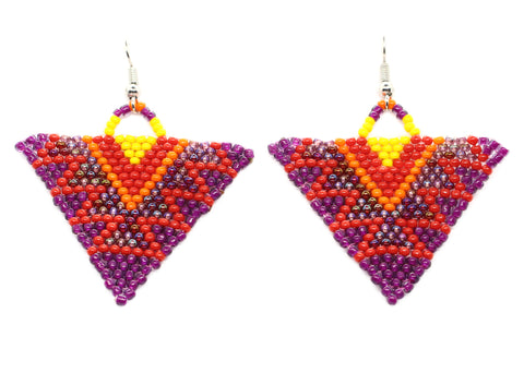 Prepster Triangle Earrings