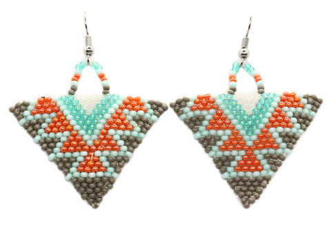Groovy Spirit Triangle Earrings