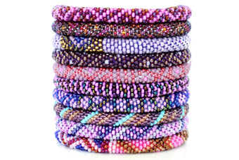 Roll On Bracelet Grab Bag - Passionate in Purples!
