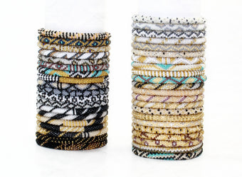 "BONUS ADD ON: 10 ""Metallics & Neutrals"" Bracelets!"