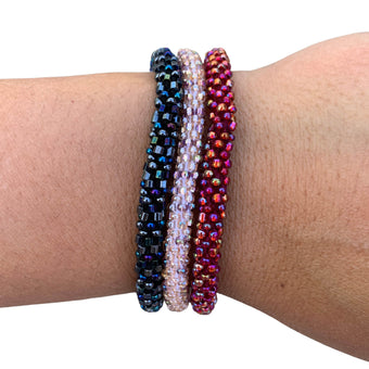 """Slender Stacker"" 3-Bracelet Set"