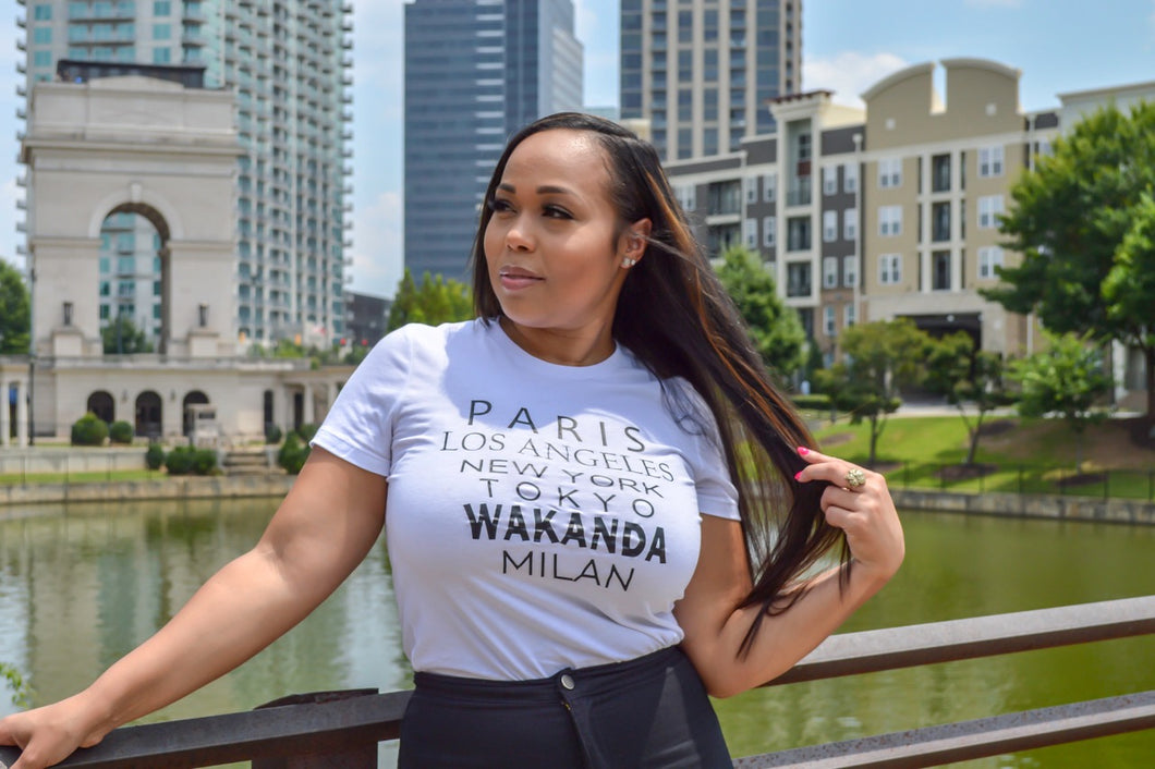 Chic Travel WAKANDA Tee