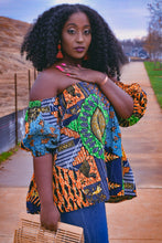 Load image into Gallery viewer, Lila Ghana off the shoulder Blouse
