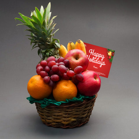 Yuletide Fruit Basket
