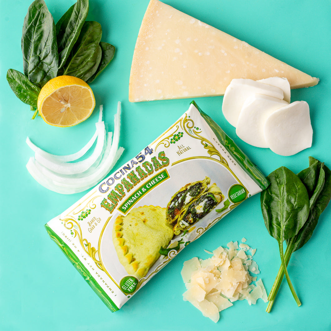 Spinach & Cheese Empanadas                            -12 or 20 Pack