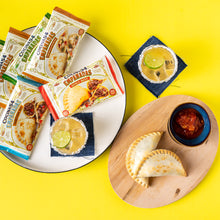 Load image into Gallery viewer, Empanada Sampler - 12 or 20 Pack