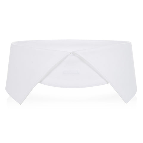 Starched regency collar