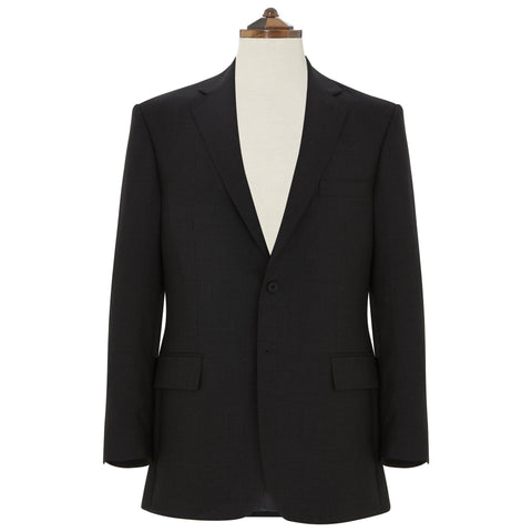 Richmond Charcoal Sharkskin Suit