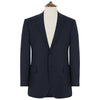 Richmond Navy Sharkskin Suit