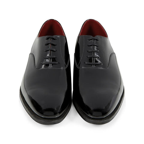 Overton Black Patent Oxford