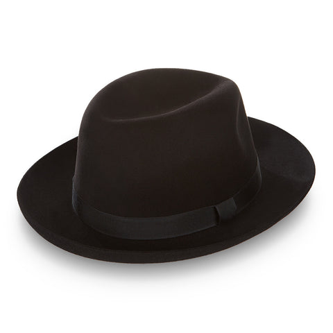 Harry Black Foldable Trilby