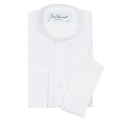 Anton White Poplin Cotton Tunic Shirt