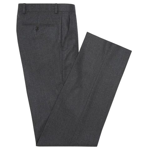 Tyler Charcoal Flannel Trousers