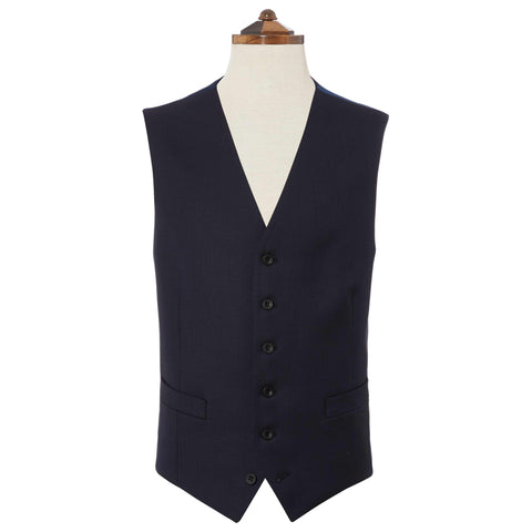 Hyde Navy Pick and Pick Waistcoat
