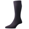 Black Laburnum Wool Socks