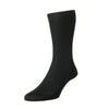 Baffin Black Silk Dress Wear Sock