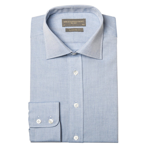 ALEX BLUE OXFORD SHIRT
