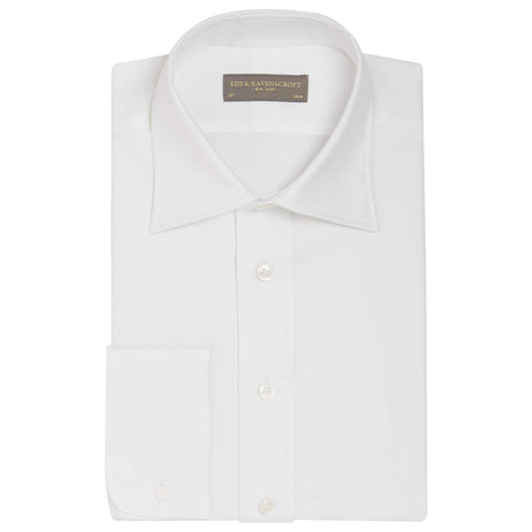 AINSLEY WHITE HERRINGBONE SHIRT