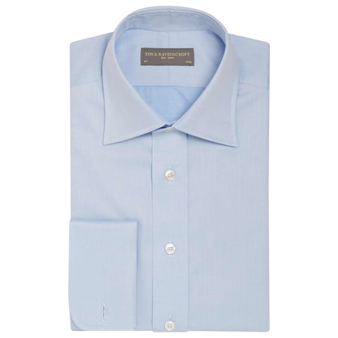 Allen Pale Blue Light Twill Shirt