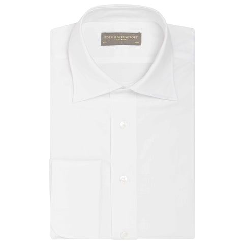 WHITE AINSLEY POPLIN SHIRT