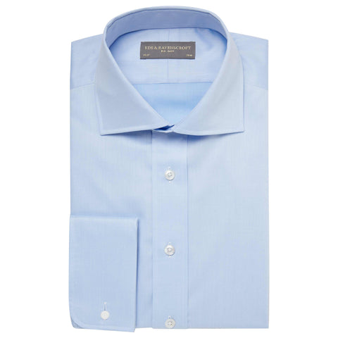 Light Blue Angus Poplin Shirt