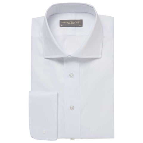 ANGUS WHITE LIGHT TWILL SHIRT