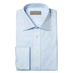 AINSLEY HEAVY TWILL SHIRT - Light Blue