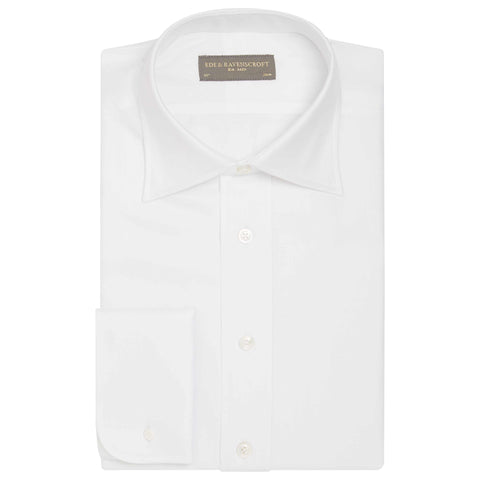 AINSLEY WHITE HEAVY TWILL SHIRT