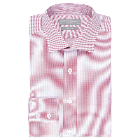 ALISTAIR MICRO CHECK TWILL SHIRT