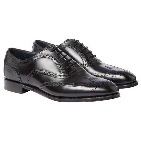 Black Sawyer Brogue