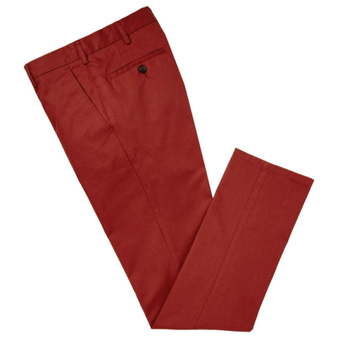 Rust Terrance Cotton Chino