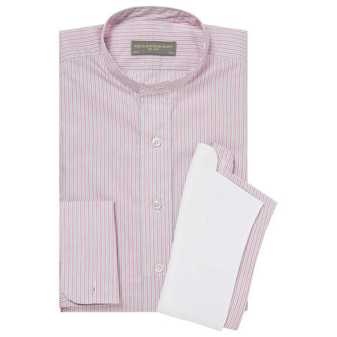 PINK AUBIN STRIPE TUNIC SHIRT