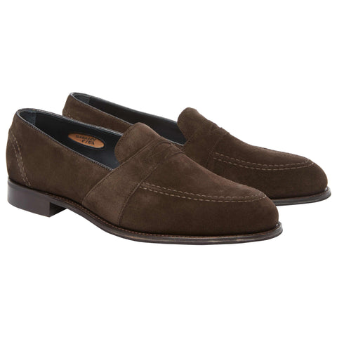 Stanley Brown Suede Loafer