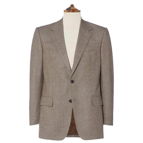 Brown Chatham Houndstooth Suit