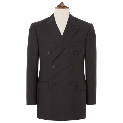 Kingsbury Charcoal Herringbone Suit