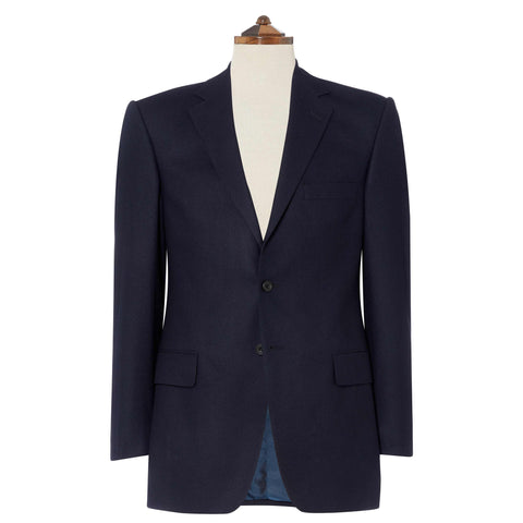 Richmond Navy Flannel Suit
