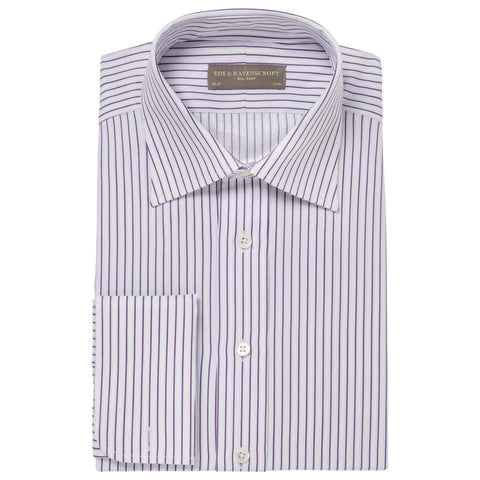 Purple Ainsley Stripe Shirt