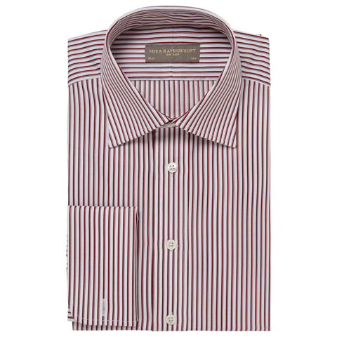 Red Ainsley Stripe Shirt
