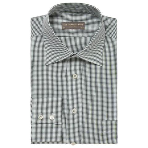 Green Alderney Check Shirt